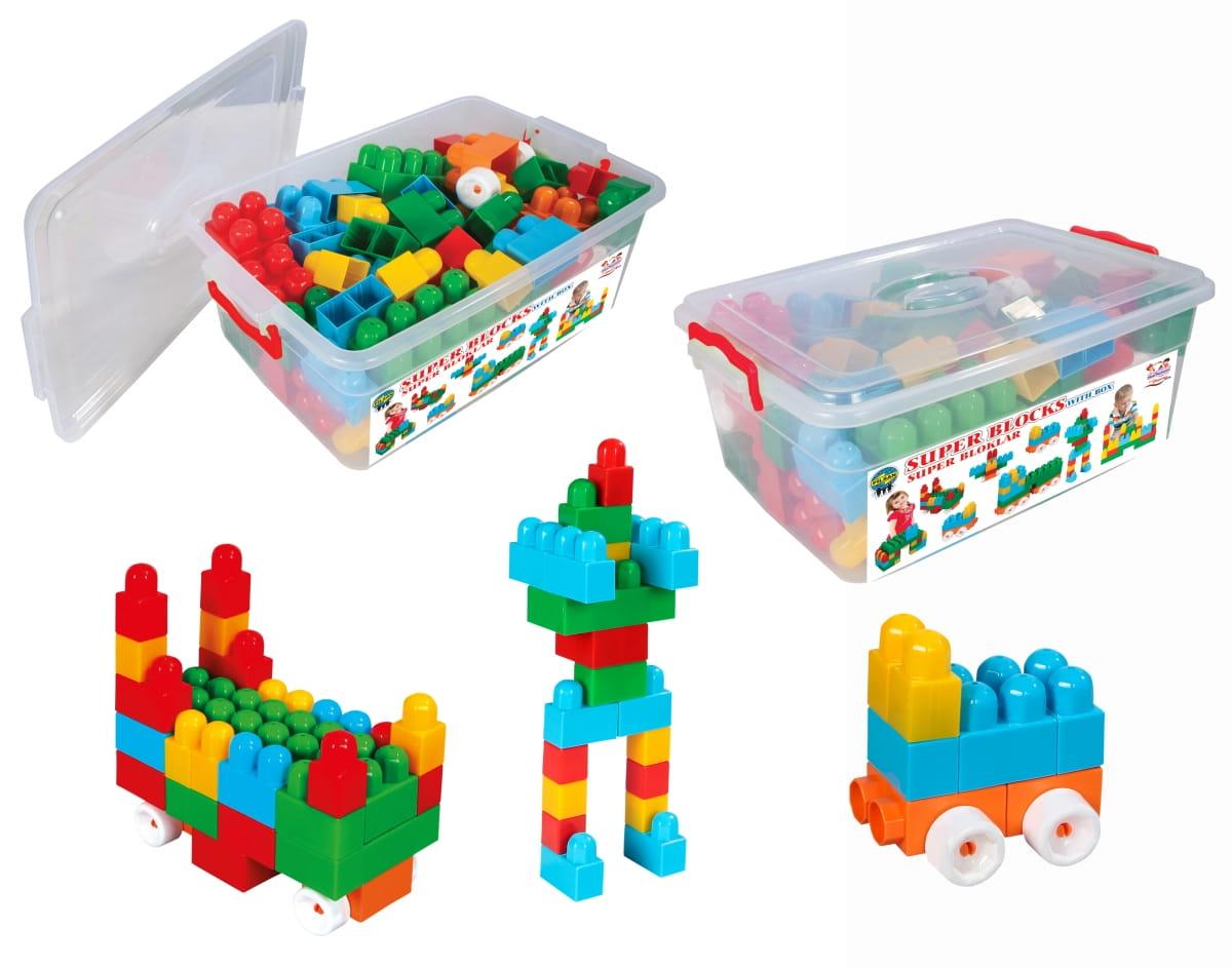 Конструктор Luxurious Super Blocks №3 - 80 деталей (Pilsan)