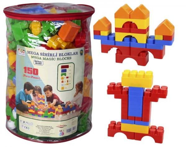 Конструктор Mega Magic Blocks - 150 деталей (Pilsan)