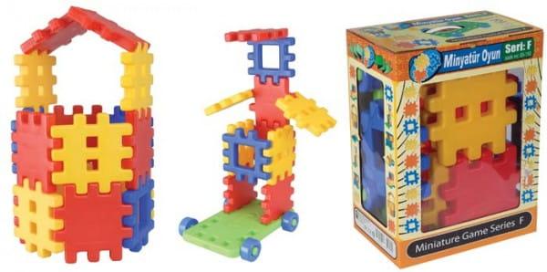 Конструктор Miniature в подарочной коробке - 36 деталей (Pilsan)