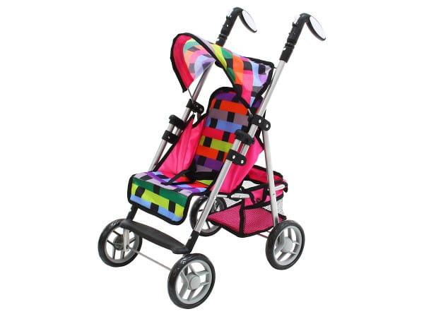 Купить Коляска трость Boomggy Boom с корзиной в интернет магазине игрушек и детских товаров