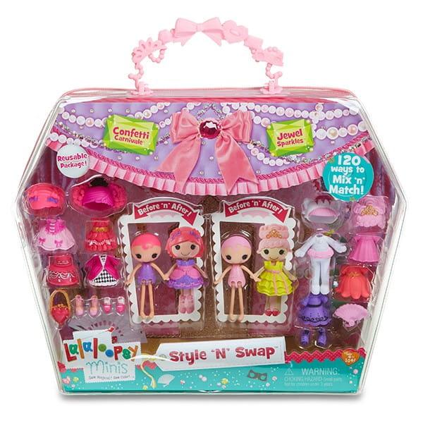 Игровой набор Mini Lalaloopsy с двумя куклами и аксессуарами