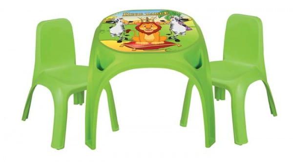 Набор мебели для детей Pilsan 3422plsn Стол с двумя стульями King