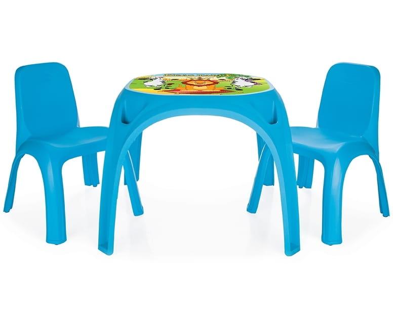 Набор мебели для детей Pilsan Стол с двумя стульями King