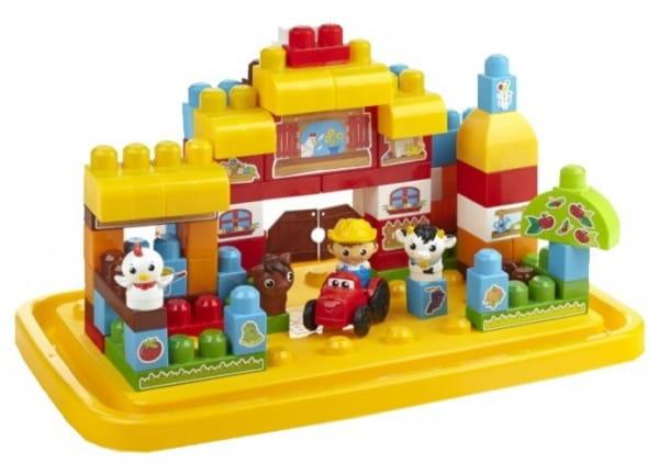 Конструктор Mega bloks First builders Ферма - 95 деталей (Mattel)