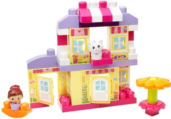 Игровой набор Mega bloks First builders Уютный домик (Mattel)