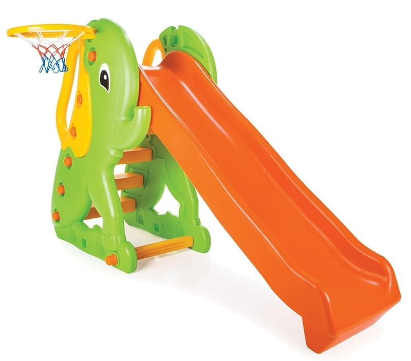 Игровой комплекс Pilsan 6160plsn Горка с баскетбольным кольцом Слон