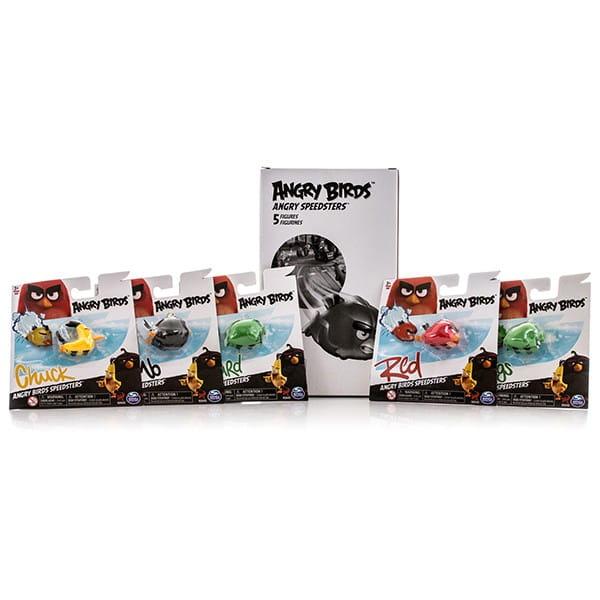 Игровой набор птичек на колесах Angry Birds (Spin Master)