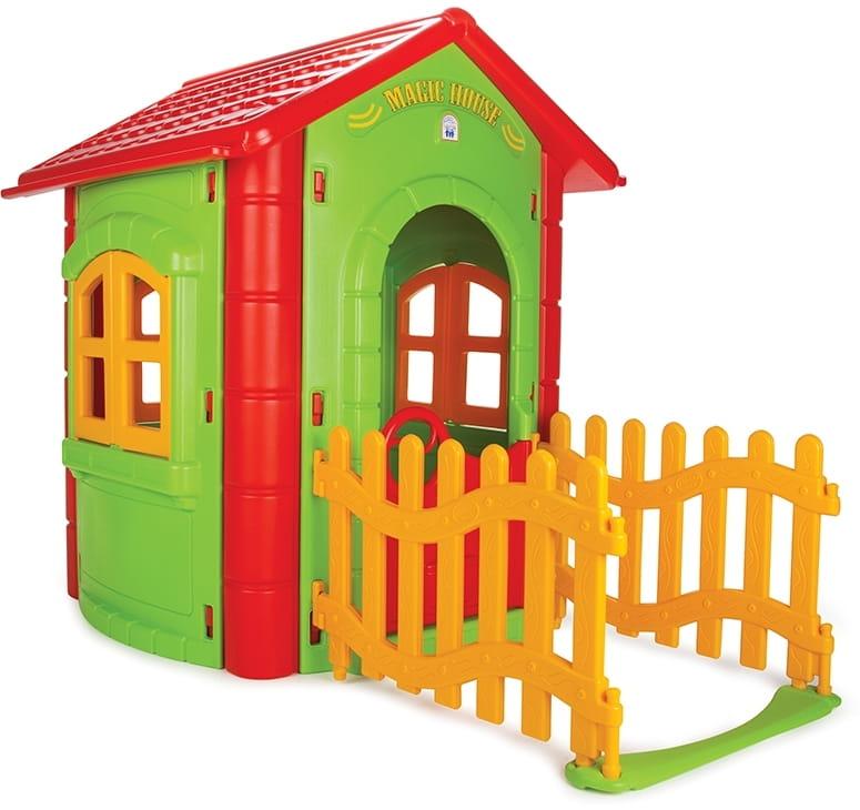 Игровой домик PILSAN Magic с забором