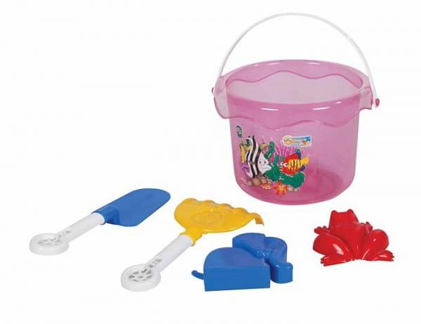 Купить Набор для игры в песочнице Pilsan - 6 предметов в интернет магазине игрушек и детских товаров