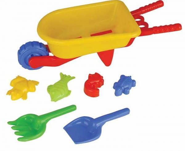 Купить Игровой набор Pilsan Для песочницы - 8 предметов в интернет магазине игрушек и детских товаров