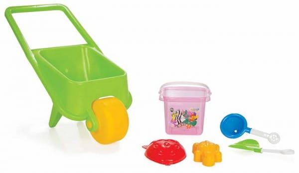 Купить Игровой набор Pilsan Для песочницы - 9 предметов в интернет магазине игрушек и детских товаров