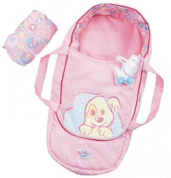 Купить Интерактивный спальный мешок Baby born (Zapf Creation) в интернет магазине игрушек и детских товаров