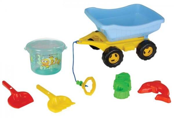 Купить Игровой набор Pilsan Для песочницы - 6 предметов в интернет магазине игрушек и детских товаров