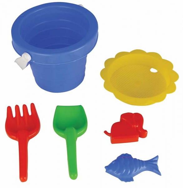 Купить Игровой набор Pilsan Для песочницы 2 - 6 предметов в интернет магазине игрушек и детских товаров