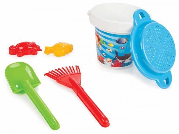 Купить Игровой набор Pilsan Для песочницы - 6 предметов (с просеивателем) в интернет магазине игрушек и детских товаров