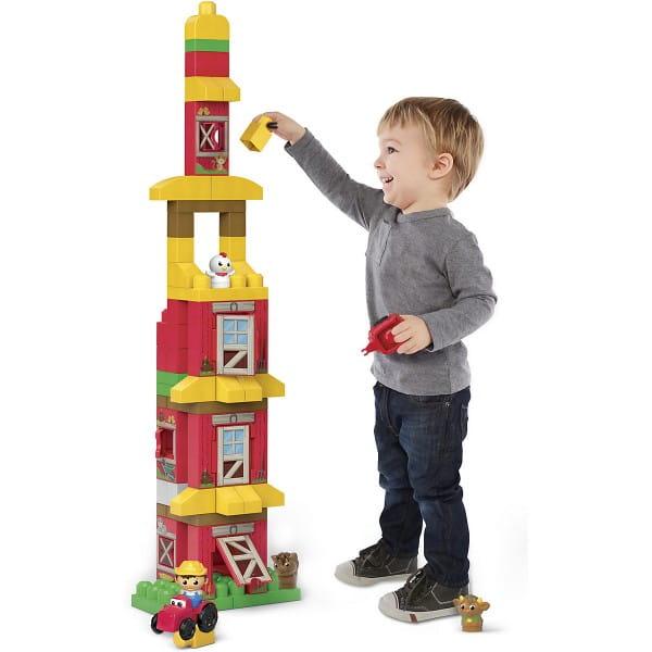 Конструктор Mega bloks First builders Веселая ферма (Mattel)