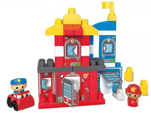 Игровой набор Mega bloks First builders Команда спасателей (Mattel)