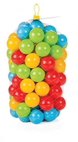 Шарики для сухого бассейна Pilsan 6405plsn 6 см - 100 штук (в сетке)