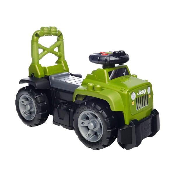 Игровой набор Mega bloks Большой зеленый джип 3 в 1 (Mattel)