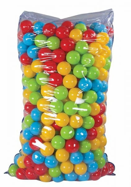 Купить Шарики для сухого бассейна Pilsan 7 см - 500 штук (в пакете) в интернет магазине игрушек и детских товаров