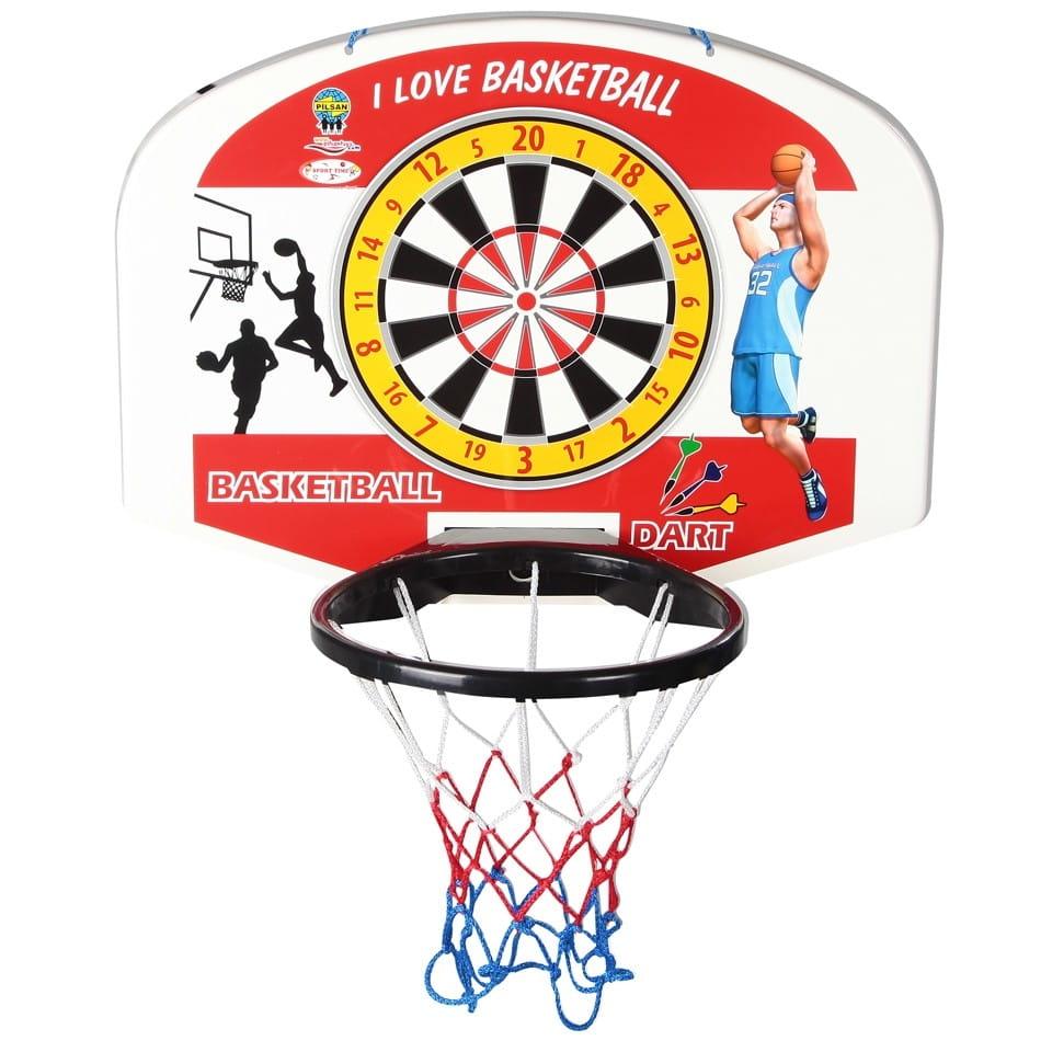 Баскетбольное кольцо и дартс PILSAN (с мячом)