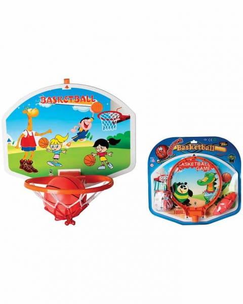 Купить Баскетбольное кольцо со щитом и дартс Pilsan в интернет магазине игрушек и детских товаров