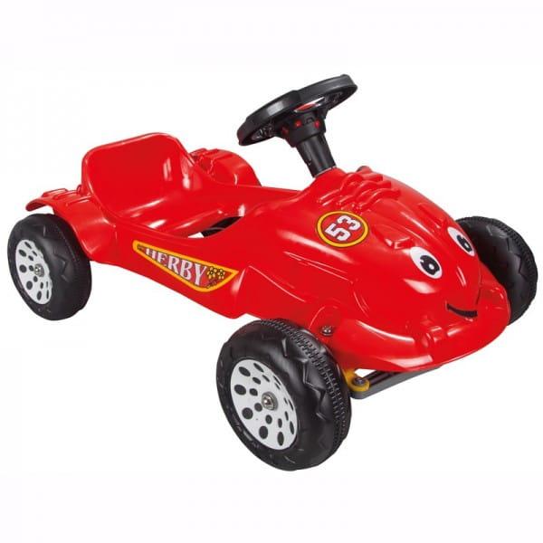 Педальная машина Pilsan Herby - красная