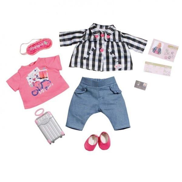 Купить Набор для путешественника Baby born (Zapf Creation) в интернет магазине игрушек и детских товаров