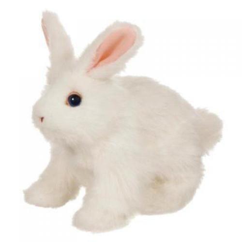 Купить Интерактивный веселый кролик FurReal Friends - белый (Hasbro) в интернет магазине игрушек и детских товаров