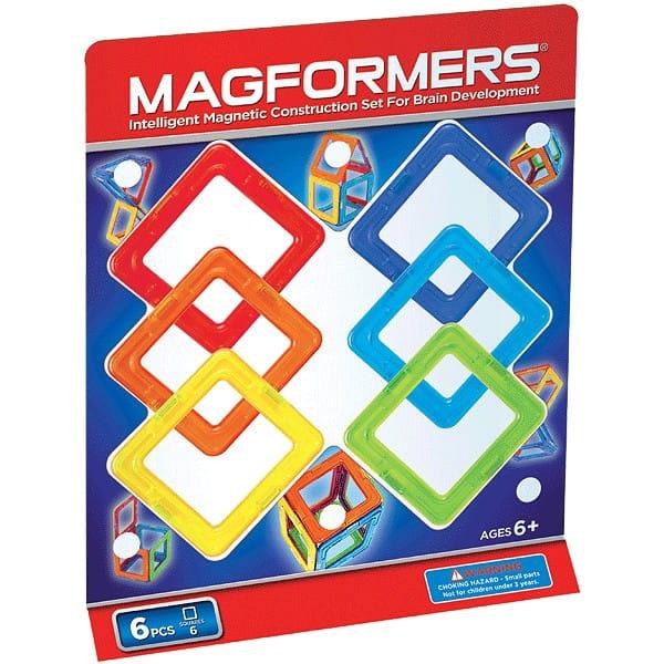 Магнитный конструктор Magformers 701001 (63086)-6 Квадраты