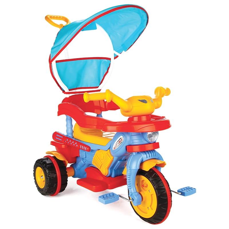 Детский трехколесный велосипед Pilsan 7131plsn Best с ручкой управления