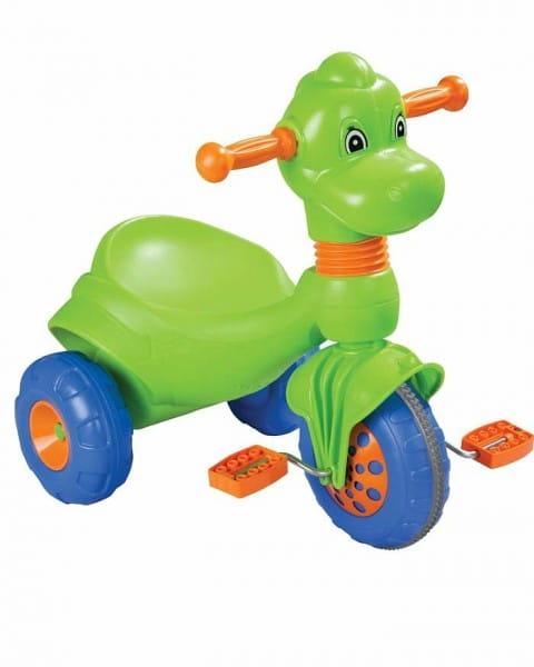 Купить Детский трехколесный велосипед Pilsan Dino (в подарочной коробке) в интернет магазине игрушек и детских товаров