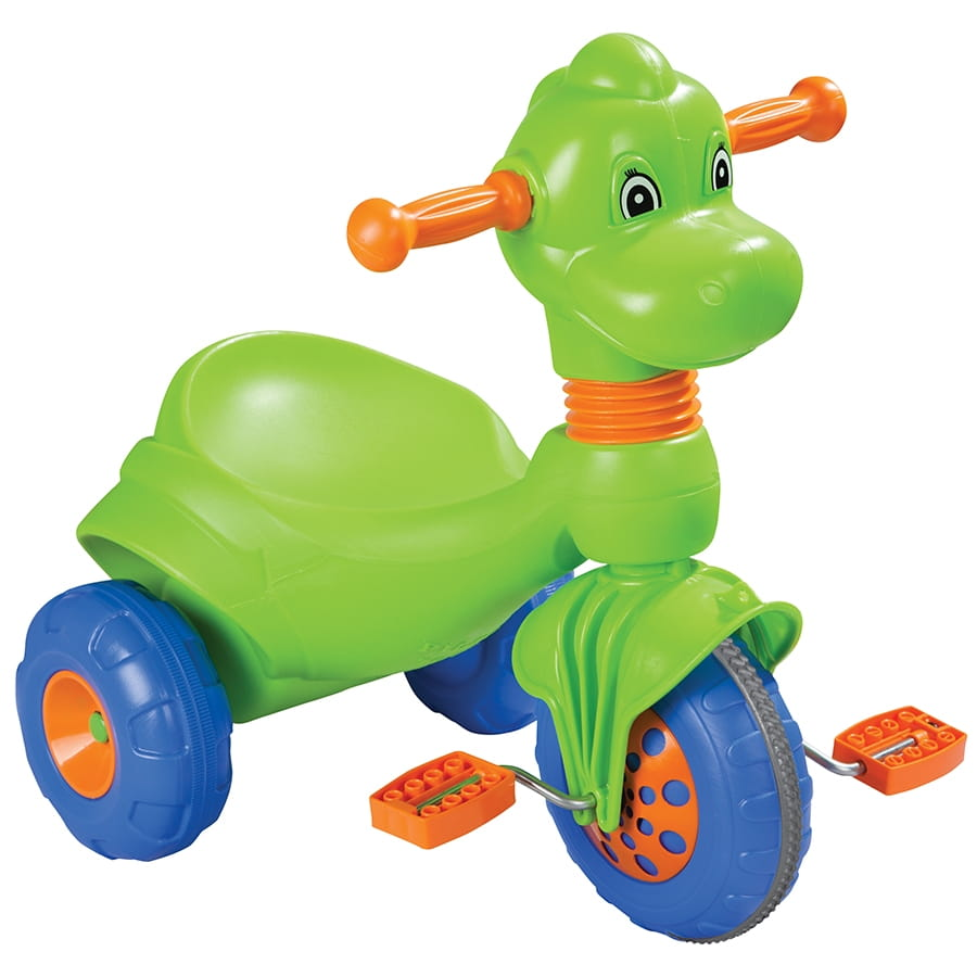 Детский трехколесный велосипед Pilsan Dino малыш
