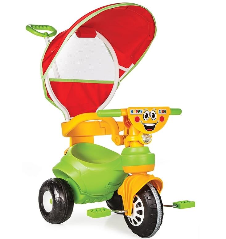 Детский трехколесный велосипед Pilsan Happy на радиоуправлении