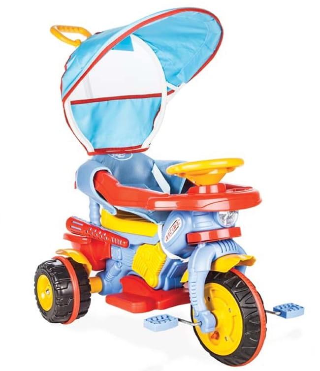 Детский трехколесный велосипед Pilsan 7134plsn Maxi с ручкой