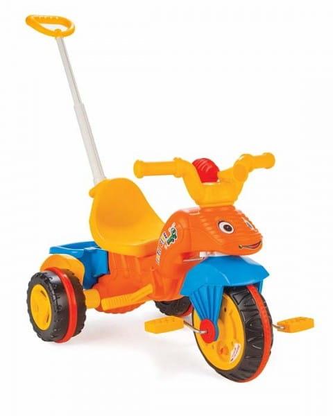 Купить Детский трехколесный велосипед Pilsan Tirtil с регулируемой ручкой в интернет магазине игрушек и детских товаров