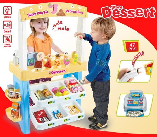 Купить Супермаркет Oubaoloon с аксессуарами в интернет магазине игрушек и детских товаров