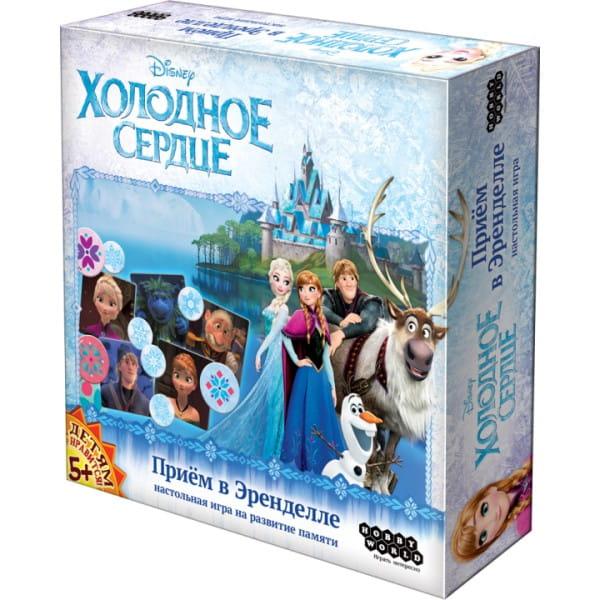 Настольная игра Hobby World 1536 Холодное Сердце Прием в Эренделле