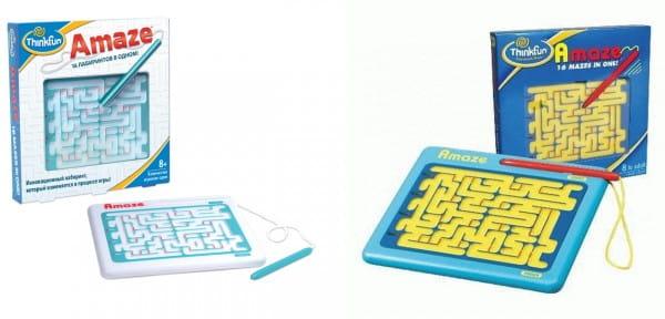 Купить Головоломка-игра ThinkFun Лабиринт в интернет магазине игрушек и детских товаров