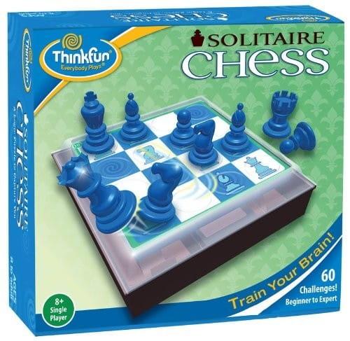 Купить Головоломка-игра ThinkFun Шахматы для одного в интернет магазине игрушек и детских товаров