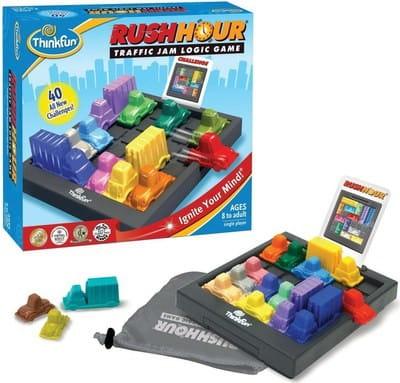 Купить Головоломка-игра ThinkFun Час пик в интернет магазине игрушек и детских товаров