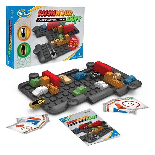 Купить Головоломка-игра ThinkFun Час пик Уличные гонки в интернет магазине игрушек и детских товаров