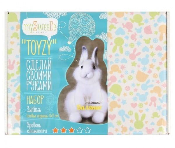 Набор для валяния из шерсти Toyzy TZ-F001 Зайка