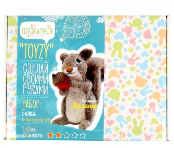 Набор для валяния из шерсти Toyzy TZ-F013 Белочка