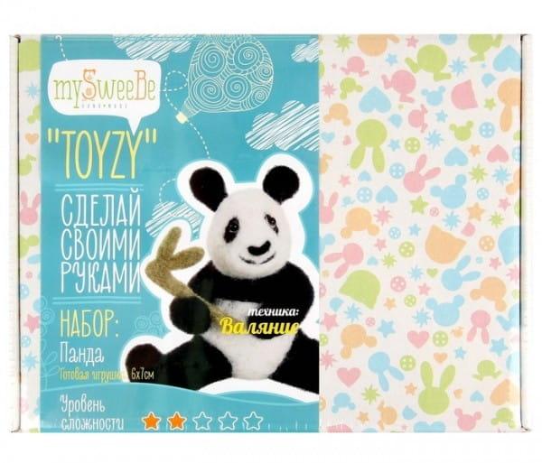 Набор для валяния из шерсти Toyzy TZ-F014 Панда