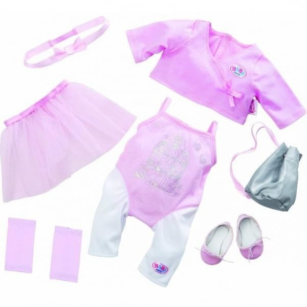Купить Одежда для балерины Baby born (Zapf Creation) в интернет магазине игрушек и детских товаров