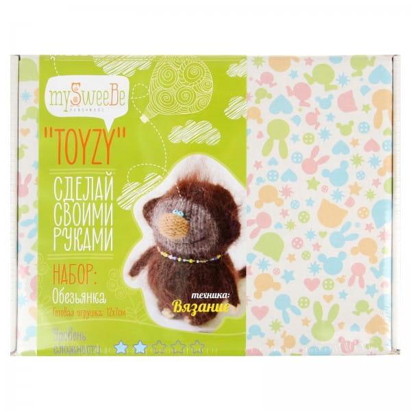 Набор для вязания Toyzy Обезьянка