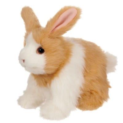 Купить Интерактивный веселый кролик FurReal Friends - рыжий с белым (Hasbro) в интернет магазине игрушек и детских товаров