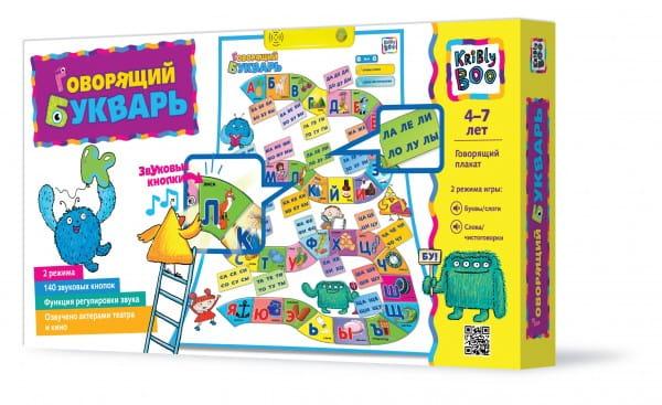 Развивающая игра Kribly Boo 13128 Говорящий букварь