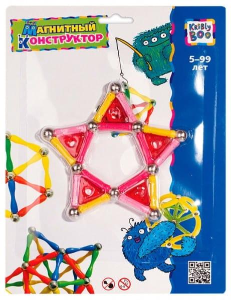 Купить Магнитный конструктор Kribly Boo Фигуры 2 в интернет магазине игрушек и детских товаров